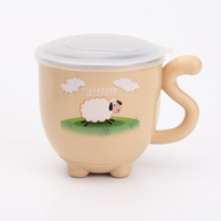 304 Stainless Steel Children S Cup 1 Pcs Cartoon Lovely Children Drinking Water Mark Cup To