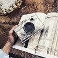 LEFTSIDE 2016 moda projeto da forma da câmera do vintage bolsa de ombro embreagem bolsa engraçado ladies mini mensageiro saco de mão bolsa carteira