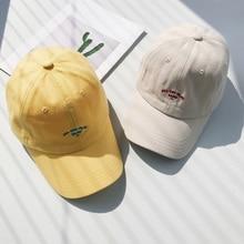купить Candy Men Women Baseball Cap Hip Hop Cap Embroidery Letter Bone Men Rapper gorras Women Man Casual Cotton Hats Cap for Girls дешево