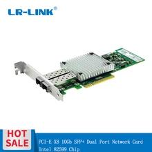 LR LINK 9802BF 2SFP + 10 Gb Ethernet Karte PCI E Dual Port Fiber Optische Server Adapter Intel 82599 Kompatibel E10G41BTDA X520 DA2