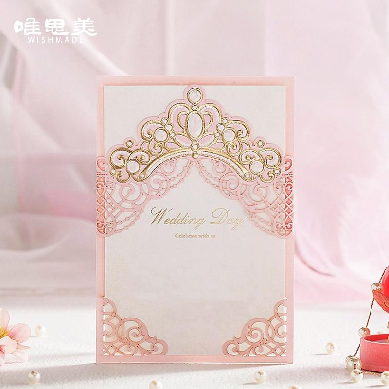 Online Get Cheap Shiny Wedding Invitations Aliexpress Com