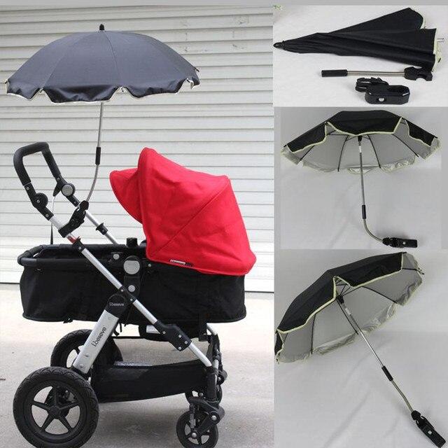 845ea2aa670 Paraplu voor baby Yoya Kinderwagen Accessoires parasol Ombrelle Poussette  Willekeurige Gebogen Armatuur Paraplu Uv