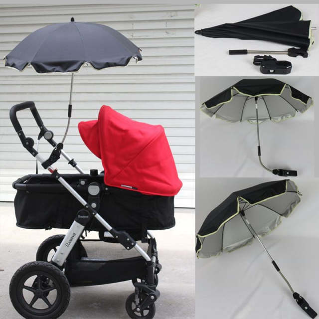 9e48282dc6d5 US $20.9 5% OFF|Umbrella for baby Yoya Stroller Accessories parasol  Ombrelle Poussette Arbitrary Curved Fixture Umbrellas Uv-in Strollers  Accessories ...