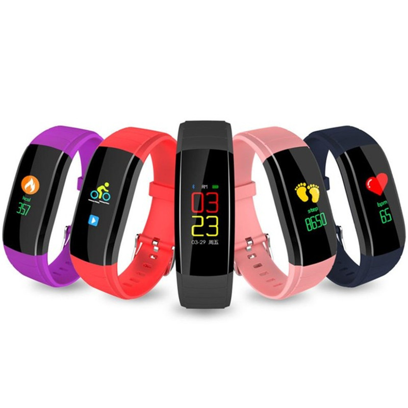 Smart Watch Pedometer IP67 Waterproof Fitness Tracker Hang Up Call Reminder Sports Bracelet Smartwatch Connect Android IOS 2020