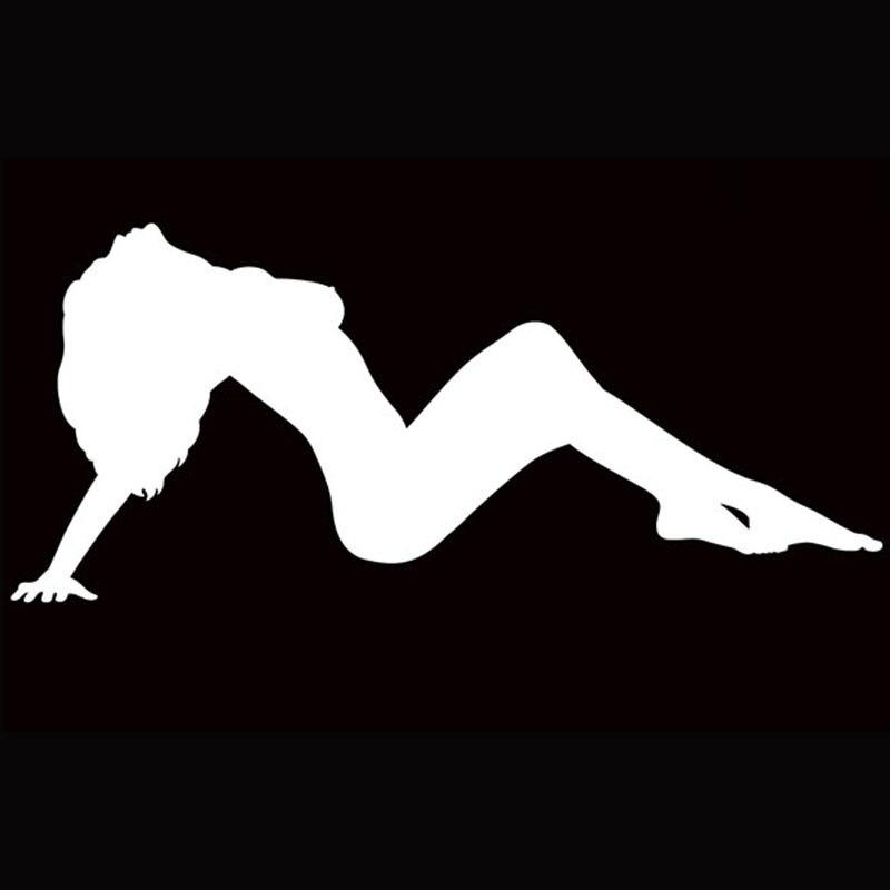 Free Shipping Sexy Woman Lying Down Car Truck font b Rv b font Boat Window Sticker