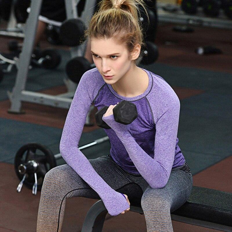 3218d7c093fd ᗖДля женщин Фитнес Рубашки для мальчиков профессиональный спорт с ...