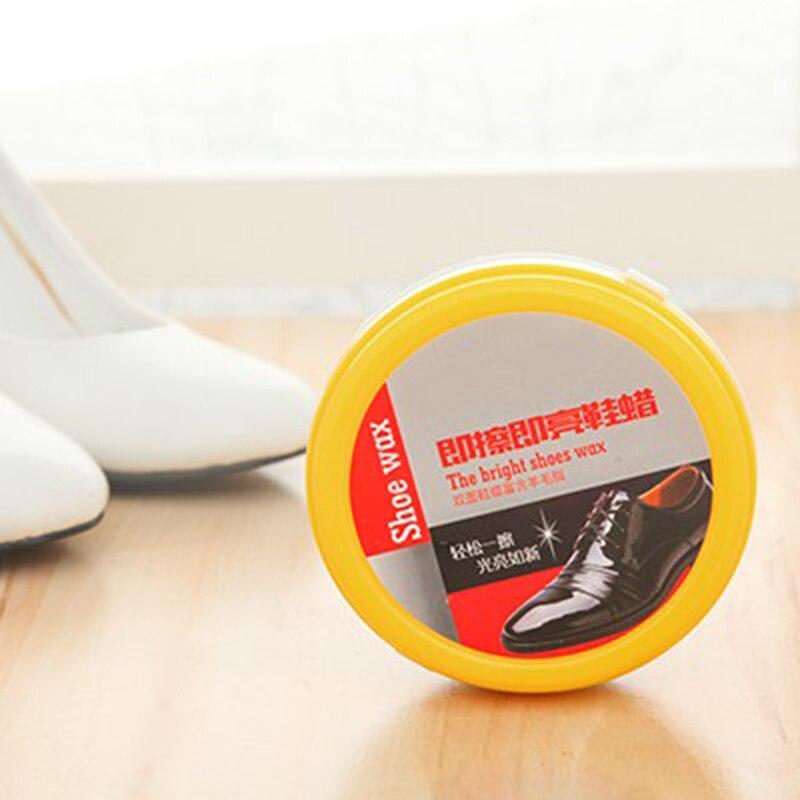 macchie di lucido da scarpe