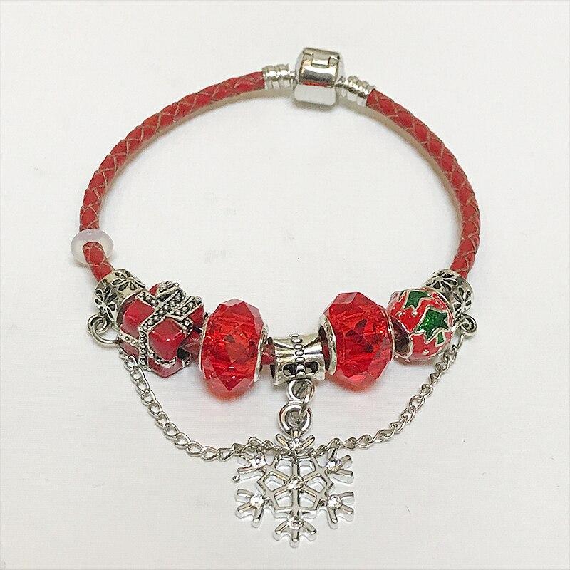 05a4df14006f € 9.0 |Dcm antiguo estilo Pandor pulseras rojas mujeres CRISTAL MURANO  cristal nuevo breast cancer Pink ribbon Amuletos bracele en Pulseras del ...