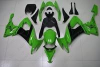 Fairing Ninja ZX 10r 2008 2010 Green Black Fairings Ninja ZX 10r 2009 Abs Fairing Ninja ZX 10r 2010
