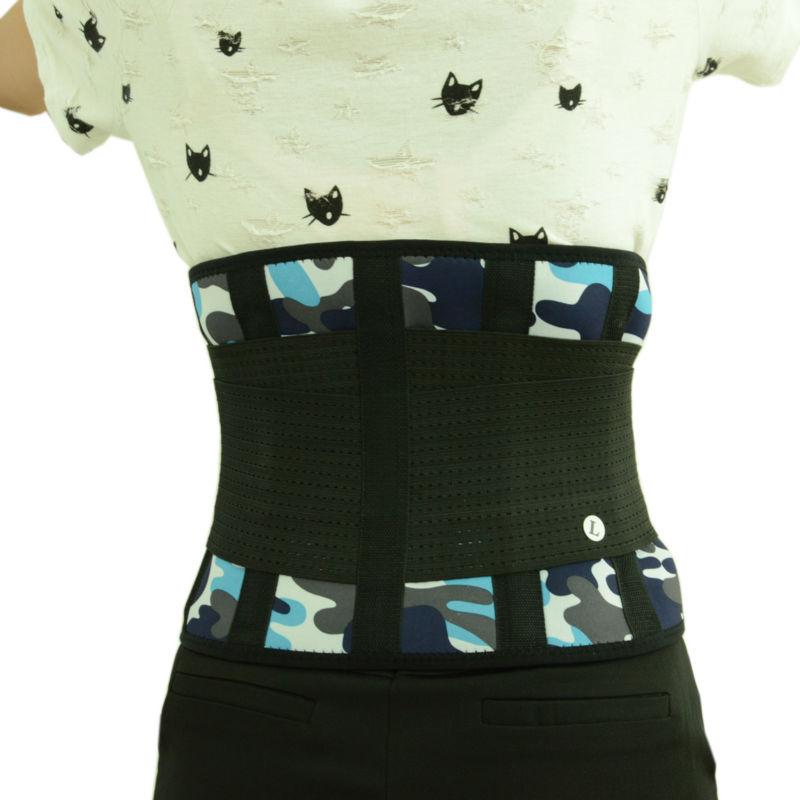 Xtreme Power Belt Women Men Back Brace Support Adjustable Corset Back Support Belt Back Waist Braces Plus Size XXL 90-130cm Y123