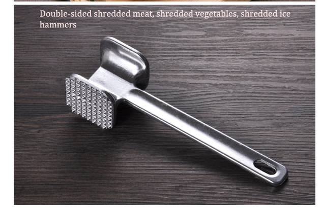Home Appliances Hammer Household Kitchen Utensils Stainless Steel Hammer Meat Beef Tender Kitchen Gadgets Diy Shredded Meat/vegetables/ice