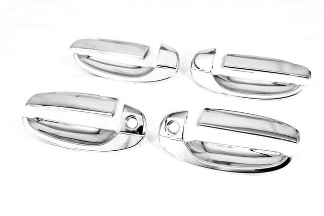 High Quality Chrome Door Handle Cover for Chevrolet Aveo 04-06 free shipping