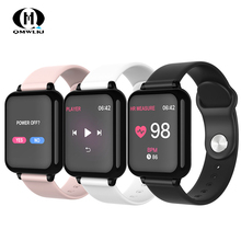 B57 Smart watches Waterproof Sports For Iphone Smartwatch Heart Rate Monitor Blood Pressure Functions kid Women Men pk iwo