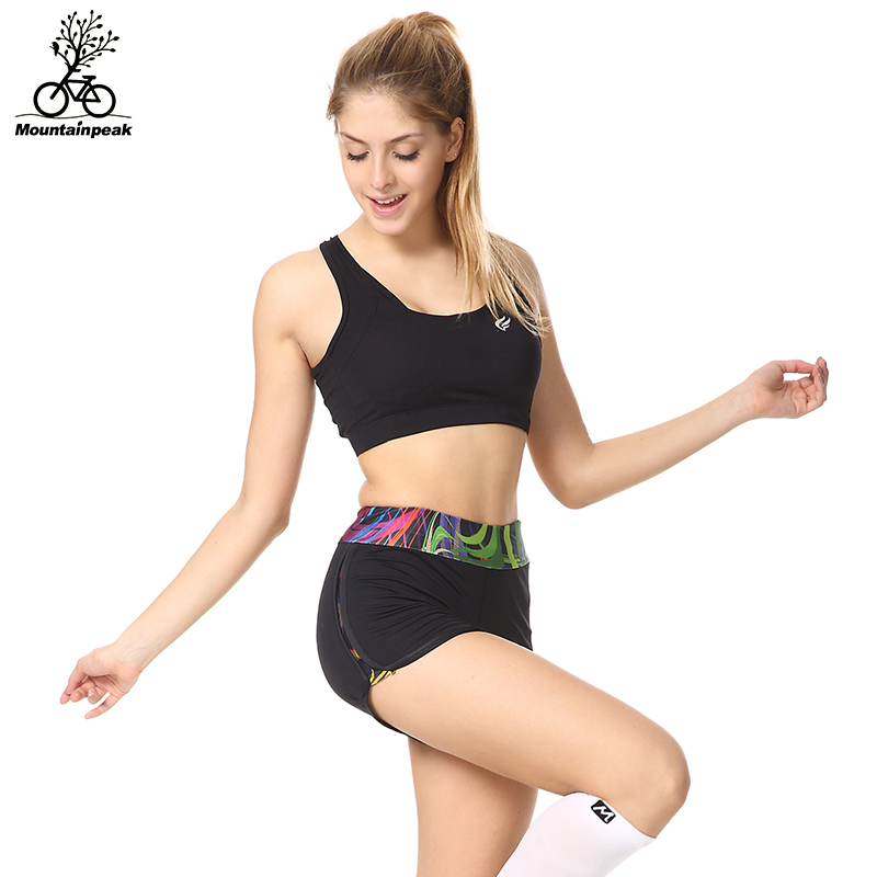 Mountainpeak 2017 Women Sport Running Shorts Elastic Waist Quick Dry Fitness Female Yoga Short Pants Sweat-absorbent Shorts ...