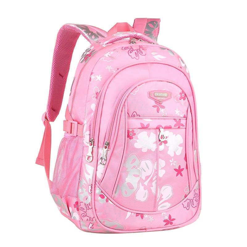School Backpacks for Girls Women Backpack School Bags Mochila Escolar Children Kids Backpacks Fashion Q0