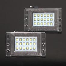 цены 2Pcs LED License Plate Lights 12v White 6000K Led Number Plate Lights Car-styling  For Volvo for 855 for V70 1997 1998 1999 2000