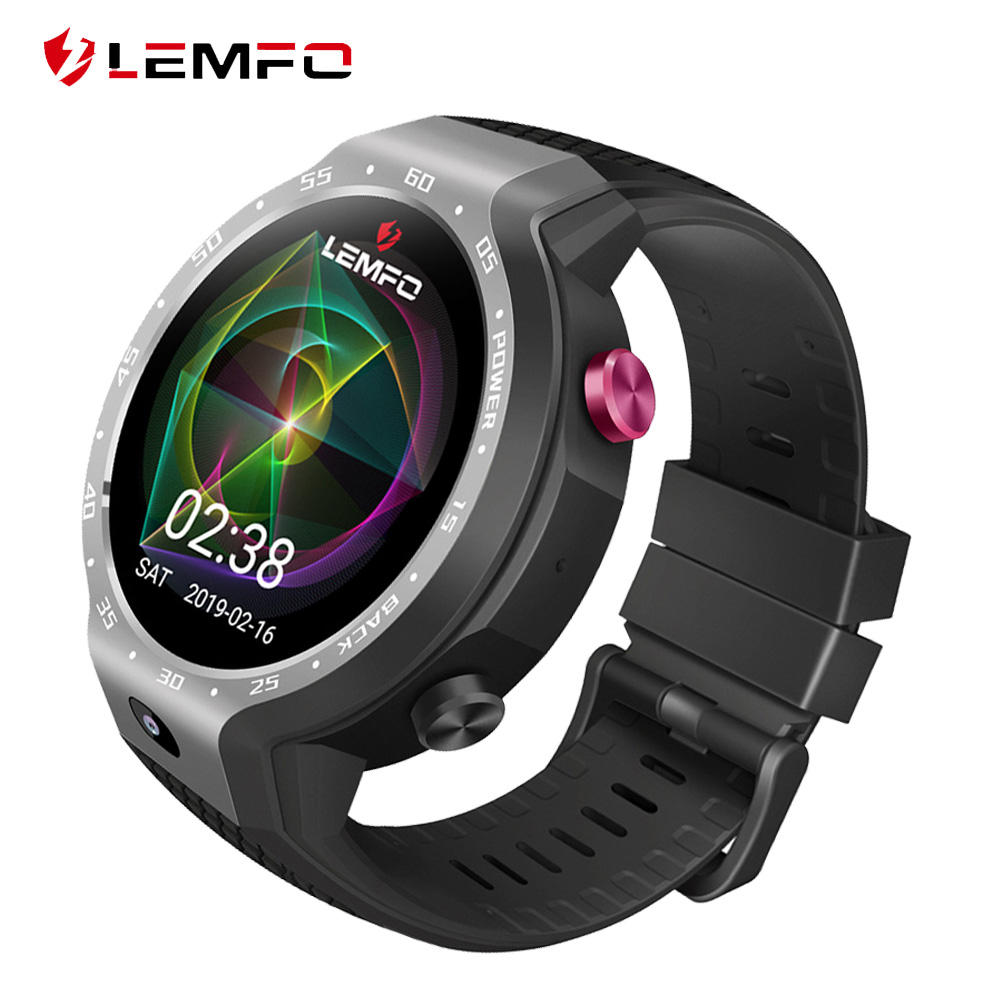 LEMFO LEM9 Smart Watch Phone Dual Systems Android 7 1 1 LTE 4G Sim 5MP Front