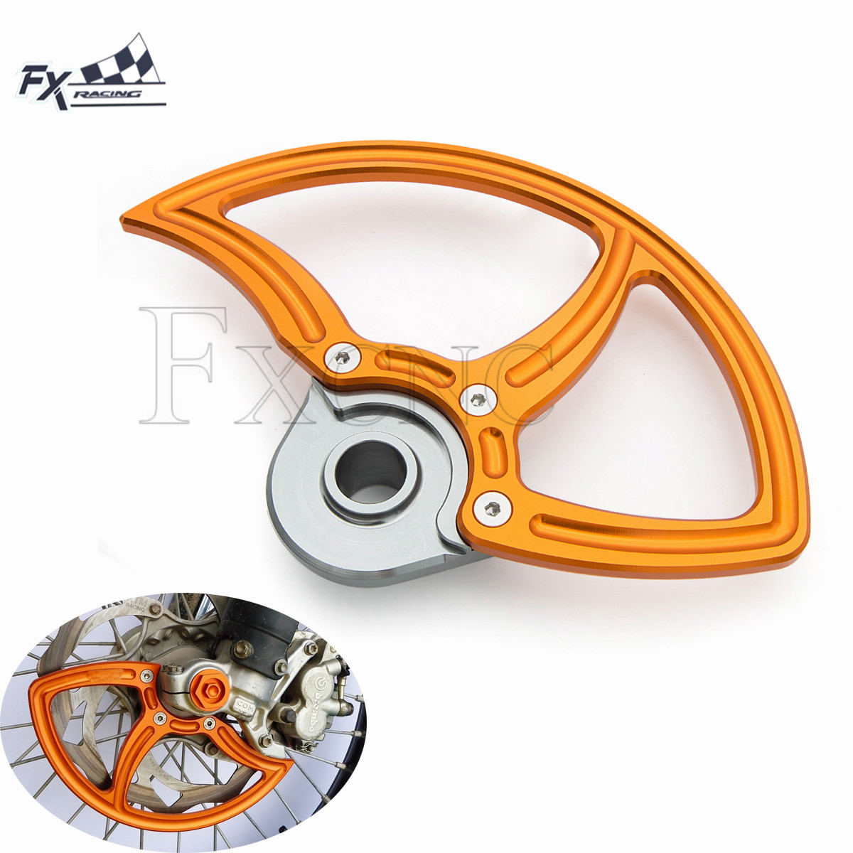 CNC Motorcycles Front Brake Disc Guard Protection For KTM SX SXF 125 250 350 450 2015
