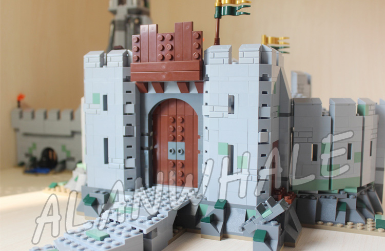 1368 шт. Властелин колец битва руля глубокий крепость 16013 модель строительных блоков игрушки Кирпичи совместимость с Lego