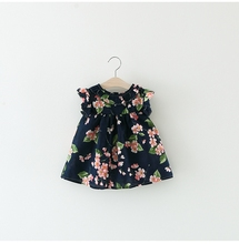 Kids Baby Girl Clothes Dress Floral For 6-24M
