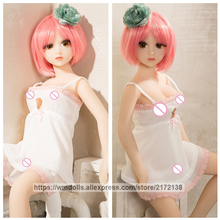 WMDOLL 65cm Silicone Sex Dolls Cartoon Anime Mini Japanese Love Doll Real Small Vagina Pussy Adult Toys For Men