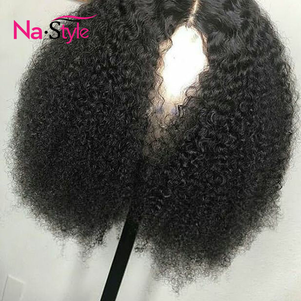 Mongolian Afro Kinky Curly Lace Front Wigs Short Bob Human Hair Wigs For Women Preplucked Lace Wigs Spring Sale