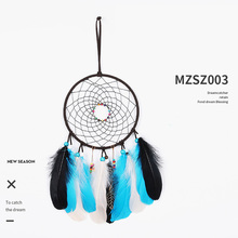 Dream catcher hand made Indian dream catcher hanging ornaments home  wedding  decoration white simple feather handmade ornaments недорого