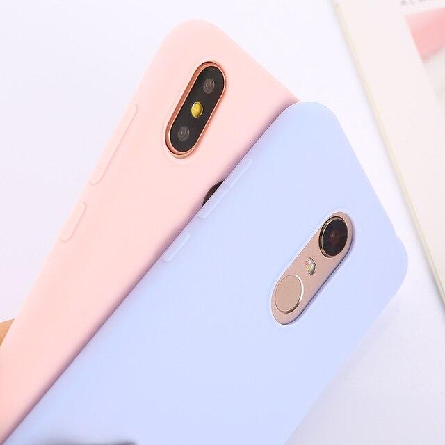 Kolor TPU krzemu skrzynka dla Xiaomi Redmi uwaga 9 9s 8T 6 5 7 8 Pro Redmi K30 7A skrzynka dla Xiaomi Mi 9T 10 Pro Mi 8 SE Lite Mi A3