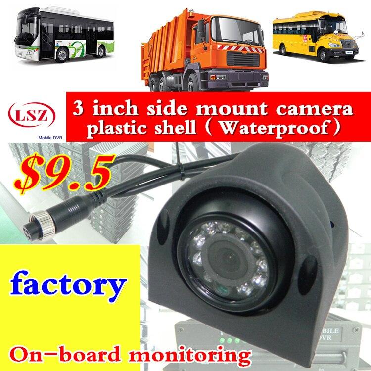 Usine de caméra de voiture, lot droit, navire court,/av/bnc sonde de surveillance de véhicule, nouvelle vision nocturne haute définition sony/ahd coaxial
