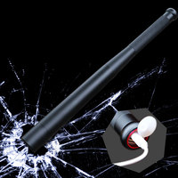 8000 lumens Self Defense LED Flashlight Powerful Baseball Bat Flashlight USB Charger T6 Bulit in 18650 Battery Torch In/Output