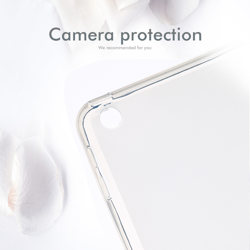 Soft Clear TPU Case For Lenovo Tab M10 Case Silicone Back Cover TB X605 TB X605F TB X605L 10 1 quot Tablet Transparent Case Cover in Fitted Cases from Cellphones amp Telecommunications