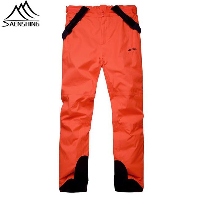 bd45d4aa46 SAENSHING Cheap Ski Pant Men Women Waterproof Ski Trousers Unisex Thicken  Warm Snow Snowboard Pants Outdoor Ski Winter Trousers