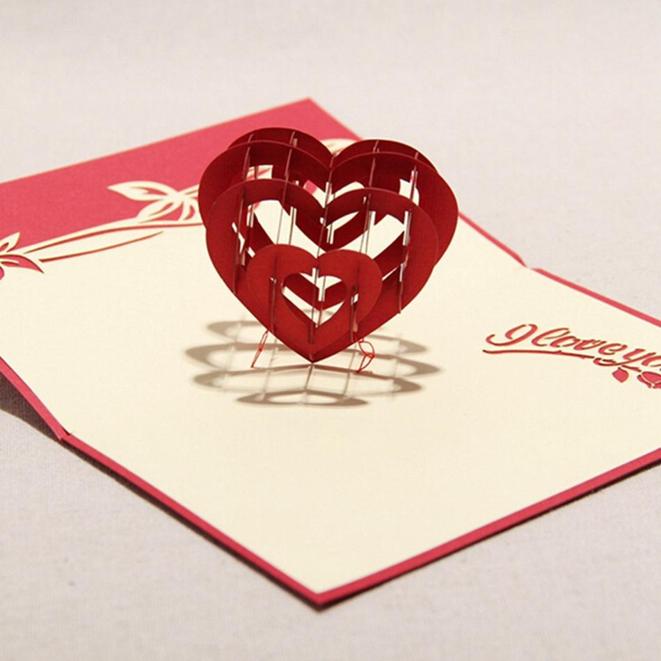 creative valentines day card - 742×667