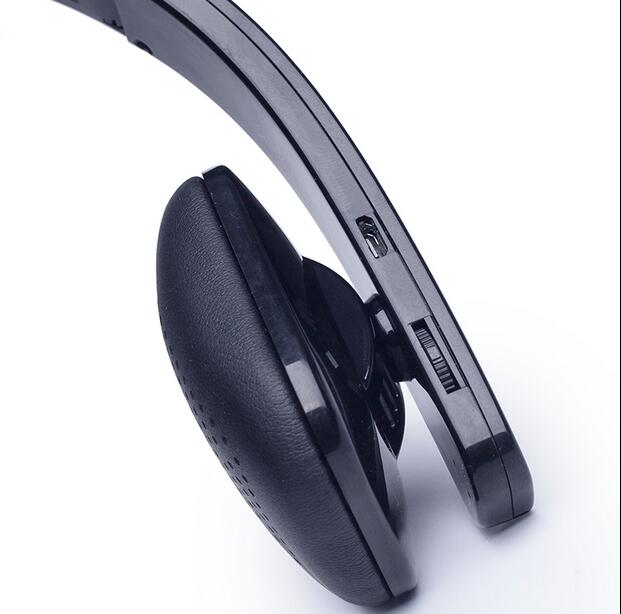 985ffe3d18d MINISO Noise Reduction Bluetooth Headphones Headset with MIC for iPhone 5  5S for Ipad for Tablet PC-in Telephone Headsets from Computer & Office on  ...