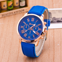 MINHIN New Hot Leather Strap Women Watches Mix Colors Luxury Fashion Quartz