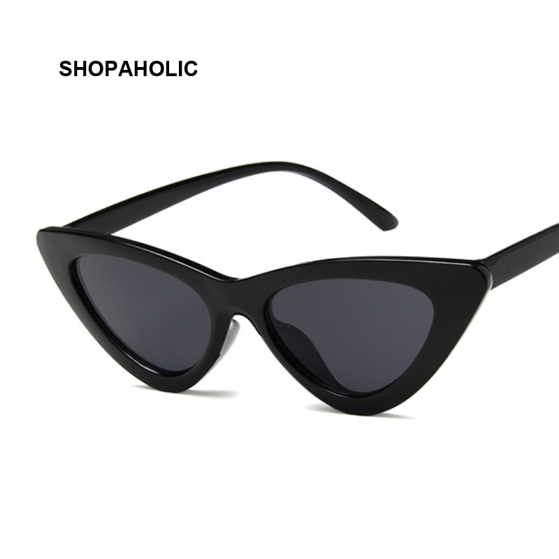 Small Cat Eye Ladies Sunglasses Red Black Frame Women Brand Designer Sun Glasses for Women Vintage Sexy Eyewear Shades UV400 1