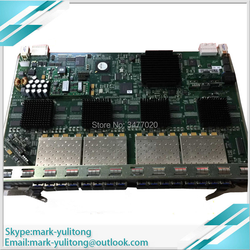 OLT Pon Board 16 Ports GPON GCOB Board With 16 SFP Modules, GC0B Used For AN5516-01  AN5516-06 AN5516-04 OLT