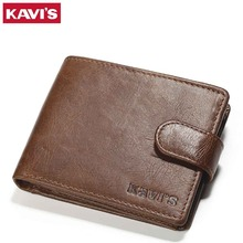 Genuine Leather Men Wallet Model 8