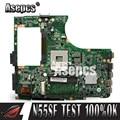 Asepcs N55SF материнская плата для ноутбука For Asus N55SF N55SL N55S тест оригинальная материнская плата