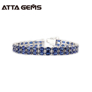 Blue Sapphire 925 Sterling Sil