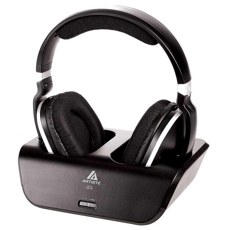 ARTISTE ADH300 Rechargeable Wireless Headphones For TV   HiFi Headset