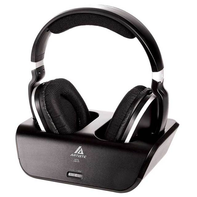ARTISTE ADH300 Rechargeable Wireless Headphones For TV | HiFi Headset