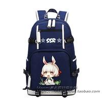 Anime Ikiz Yıldız Exorcists Cosplay Enmadou rokuro Cos Karikatür öğrenci kampüs sırt çantası büyük kapasiteli çocuk doğum günü hediye