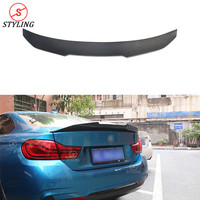 For BMW F32 Carbon Fiber Spoiler PSM Style Coupe 4 Series 420I 428I 435I F32 Carbon Fiber rear spoiler Rear trunk wing 2014 UP