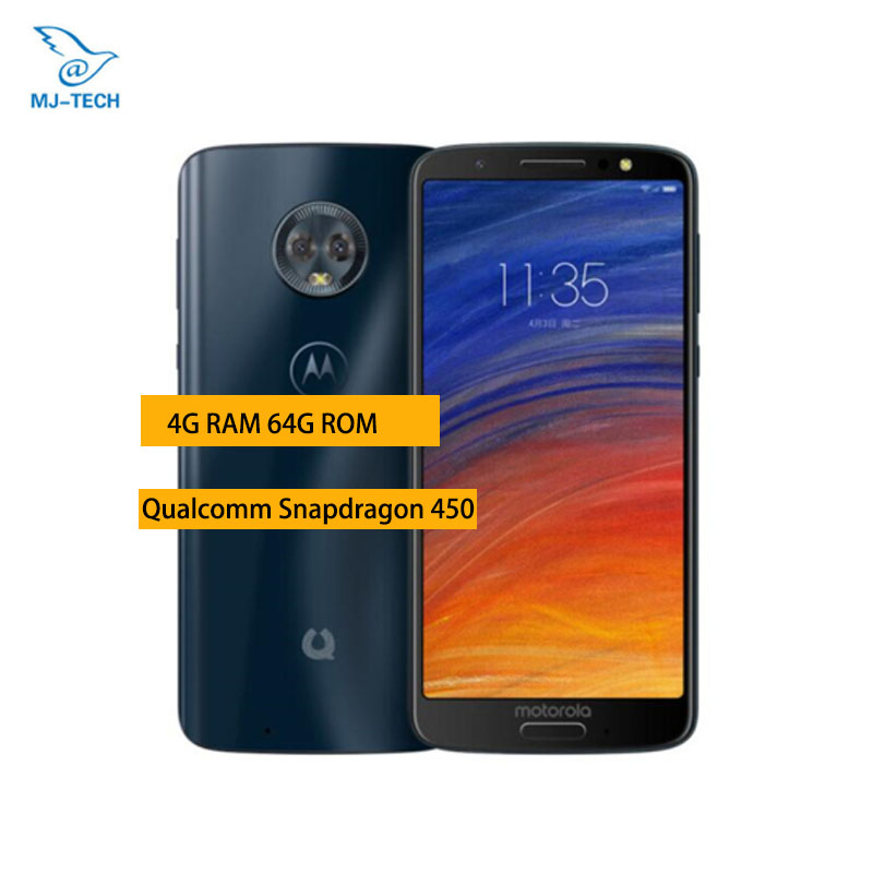 Motorola Moto Green Grapefruit 1s 4G 64G Snapdragon 450 Octa core 5 7 Inch 18 9