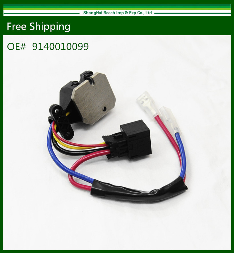 New Blower Heater Fan Resistor Regulator W140 For Mercedes