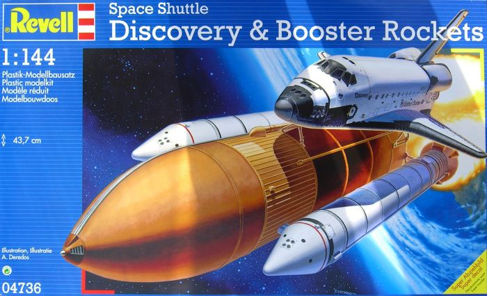 revell discovery space shuttle with boosters - photo #15