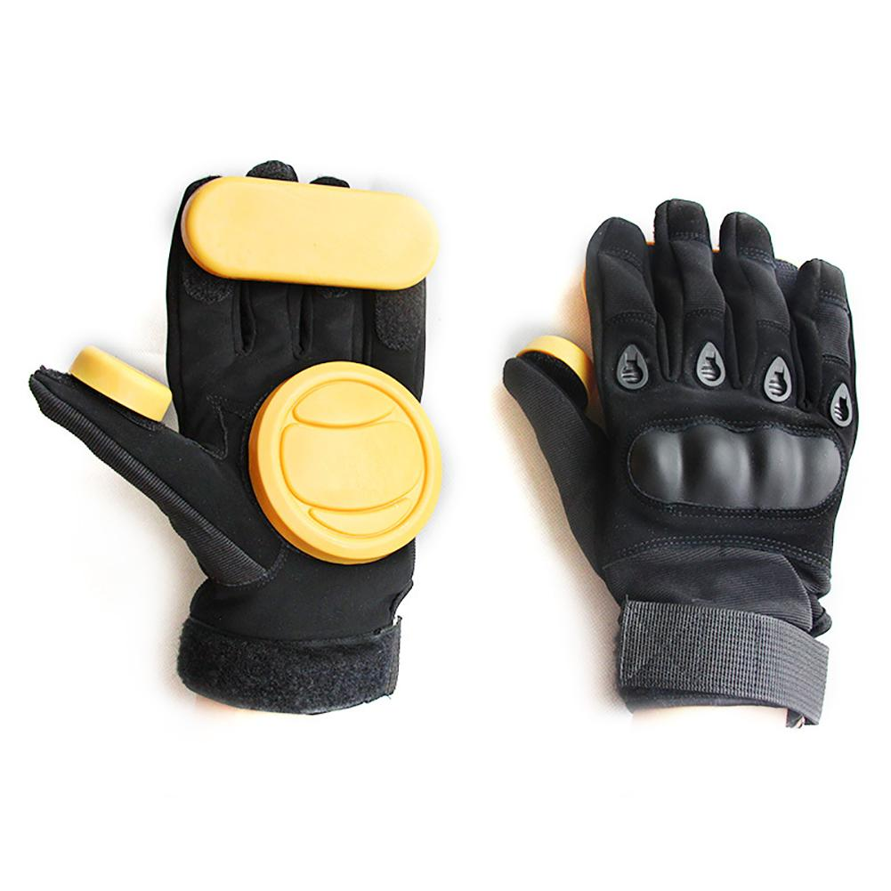 Skateboard Longboard Slide Gloves Breathable Protecive Pads Speed Reduction And Braking Slider Dowhill Protection Gloves Gear