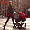 European Luxury Baby Stroller High View Prams Folding Poussette