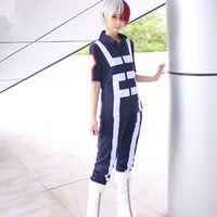 Anime Boku No Hero Bakugou My Hero Academia OCHACO URARAKA Midoriya Iida School Sportswear Cosplay Costume